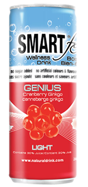 Smart Drinking with our SMARTfx GENIUS Cranberry Gingko Beverage