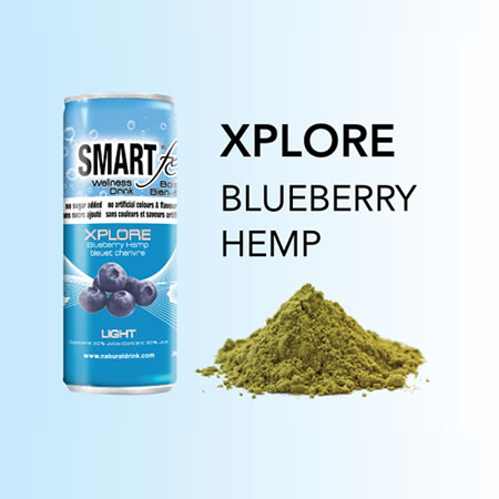 XPLORE Blueberry Hemp