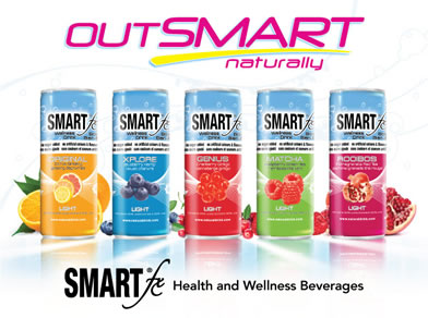 SMARTfx lineup of health and wellness beverages