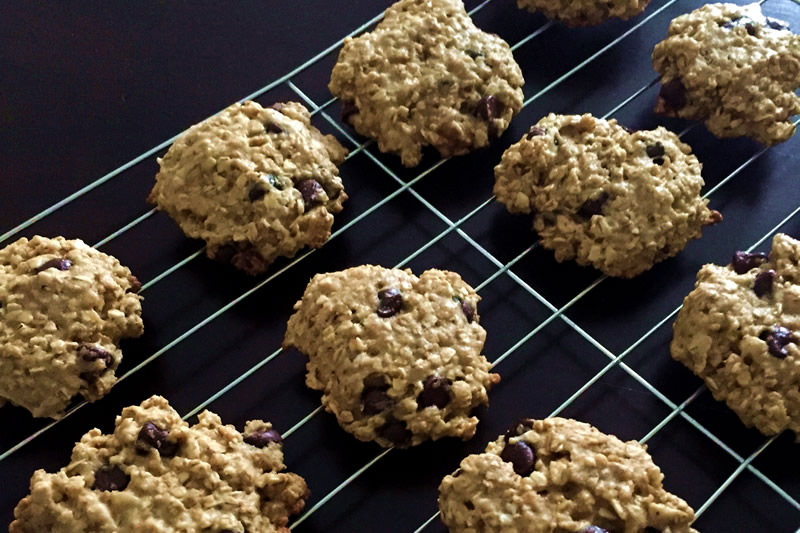 ORIGINAL Oatmeal Chocolate Chip Cookies