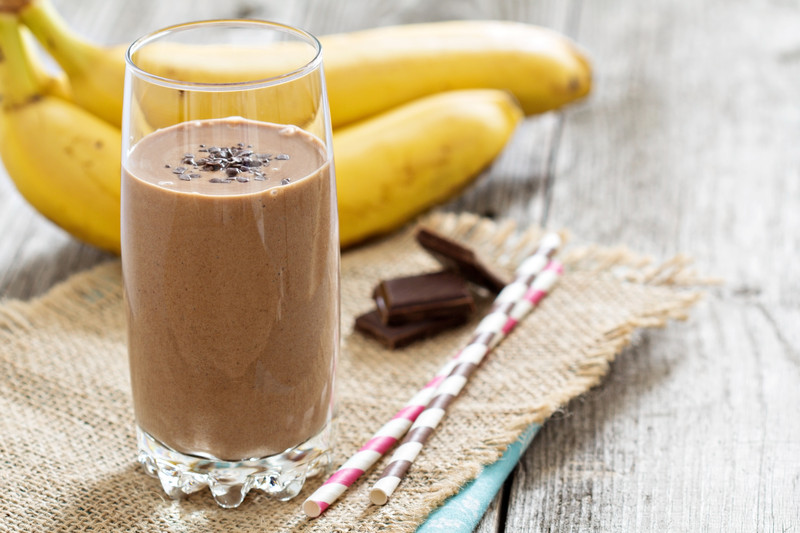 ORIGINAL Chocolate Banana Post-Workout Smoothie